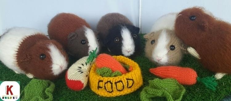 Hungry Guineas - handmade, knitting - winterfellknits | ello