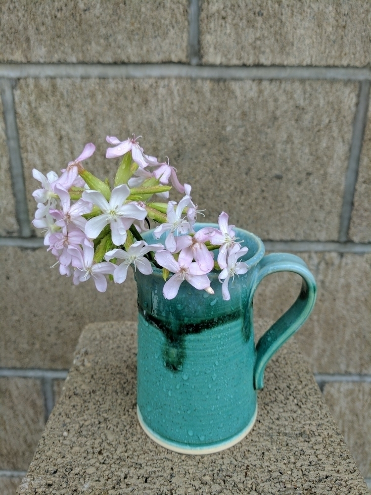 Rain making mug good - pottery, ceramics - hillippieclayco | ello