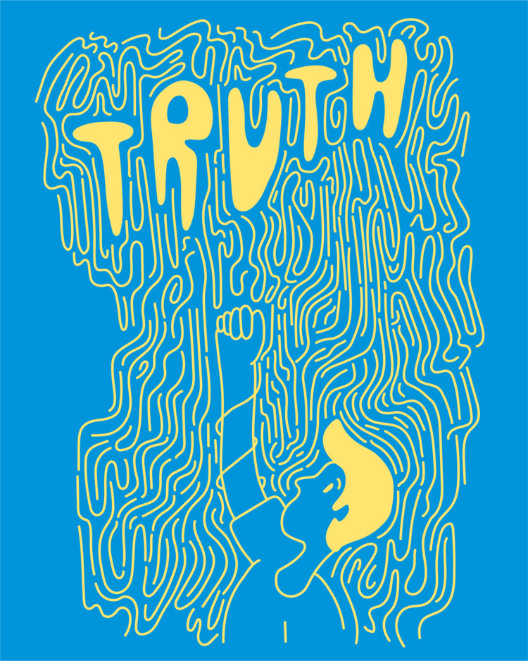 Truth - illustration, illustrator - heybop | ello
