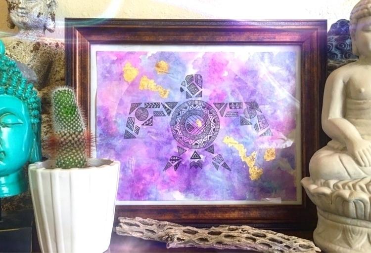 Rising Phoenix original waterco - thatgirlstayce | ello