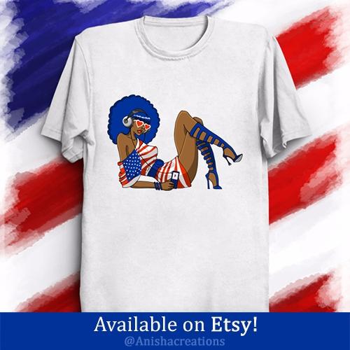 4th July gonna Funky - USA, Tshirts - anishacreations | ello
