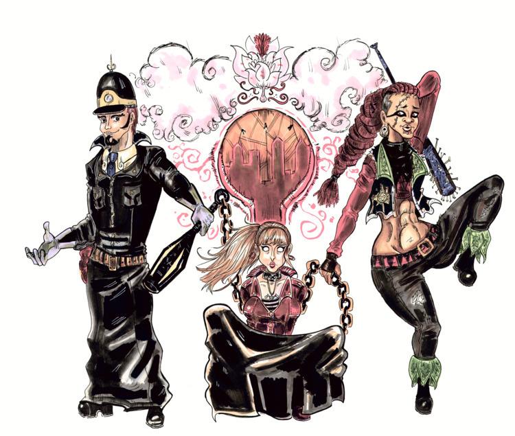 Reinvista Pinup ft. Officer Sir - blackblightwoods | ello