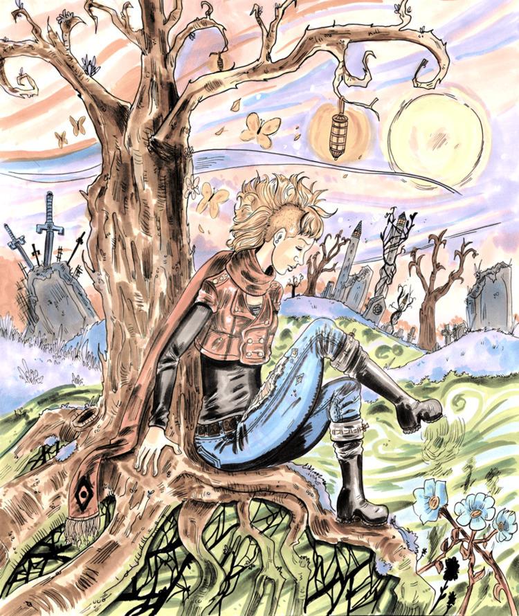 Ch. 4 'Ill Wind' Cover Page (Ra - blackblightwoods | ello