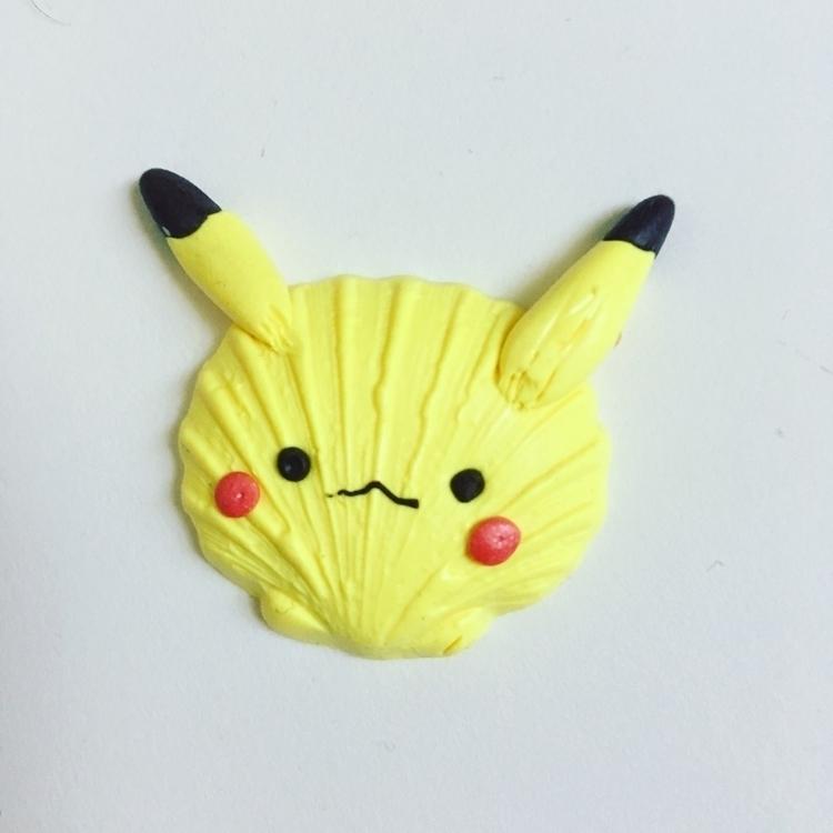 Pikashell - shell, pikachu, pokemon - jainilla | ello