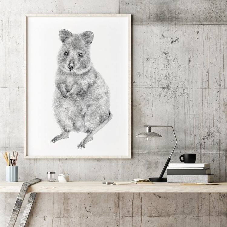 Rupert quokka - illustration, interiorstyle - carmenhui | ello