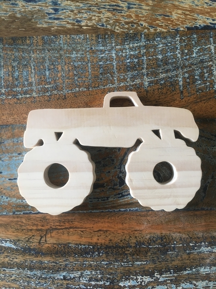 Monster trucks - woodendecor, monstertrucks - woodenitbefun | ello