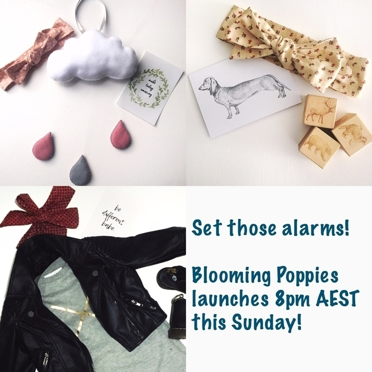Ello Blooming Poppies! set read - bloomingpoppies   ello