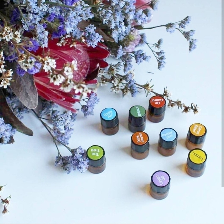 fresh blooms doTERRA essential  - the_essential_mumma | ello