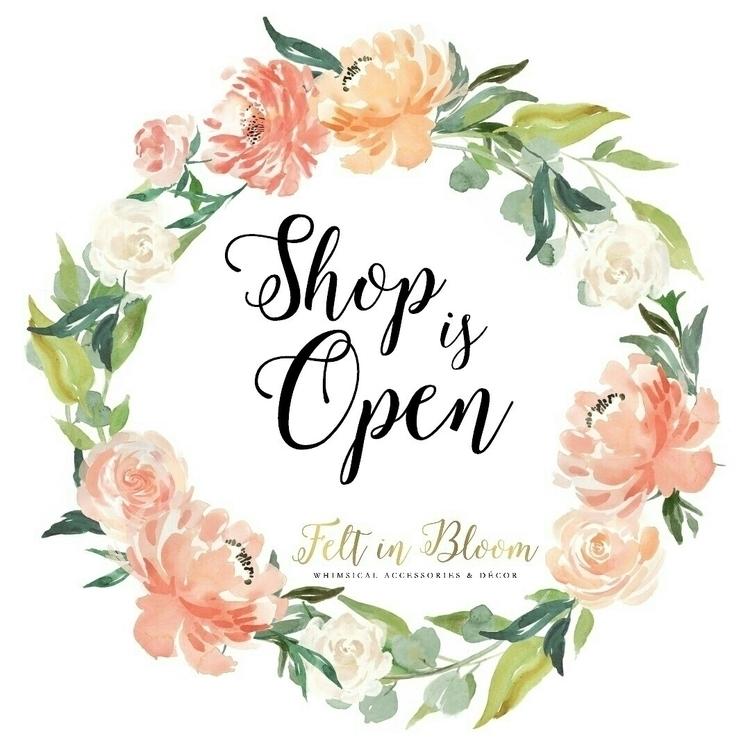 open! Happy bloom picking - feltinbloom   ello