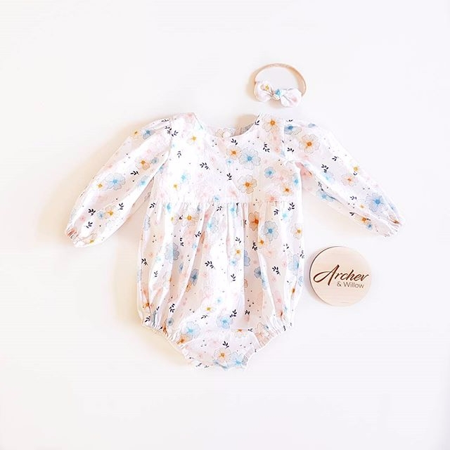 lovely Everly romper listed web - archer_and_willow | ello