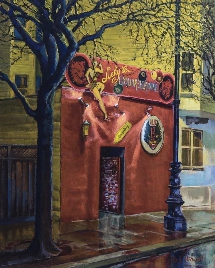 Lucky 13. Oil canvas, 20 16 inc - paulhermann | ello