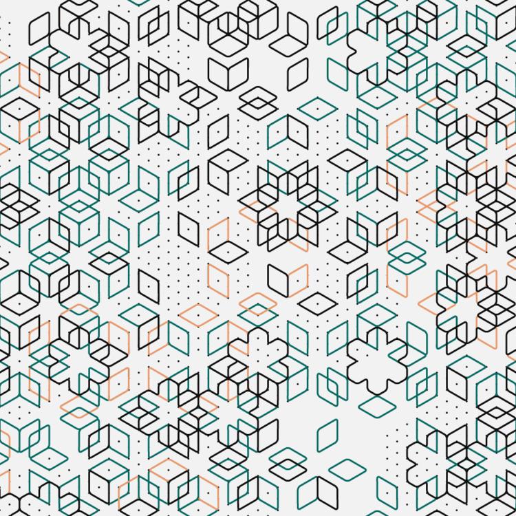 Geometric Shapes / 170624 - creativecoding - sasj   ello