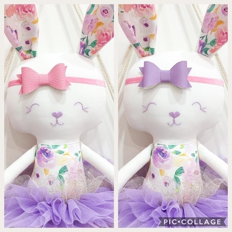 Custom order purple floral bunn - rhapsodyandthread | ello
