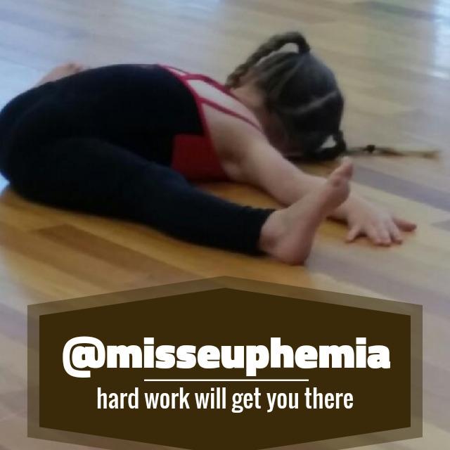 Work hard stretching amazing - misseuphemia | ello