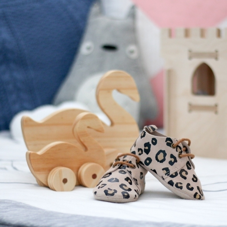 Baby shoes wooden toys cutest c - the_jaded_monkey | ello