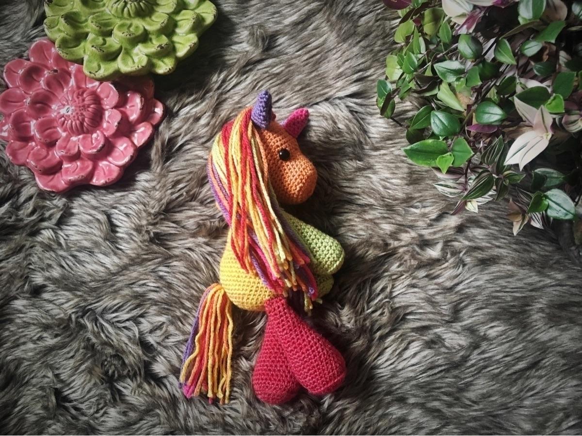 Solis Unicorn! Unicorn pattern  - thestitchtower | ello