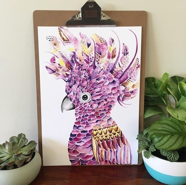 Limited Edition Print Flamboyan - kylieferridayart | ello