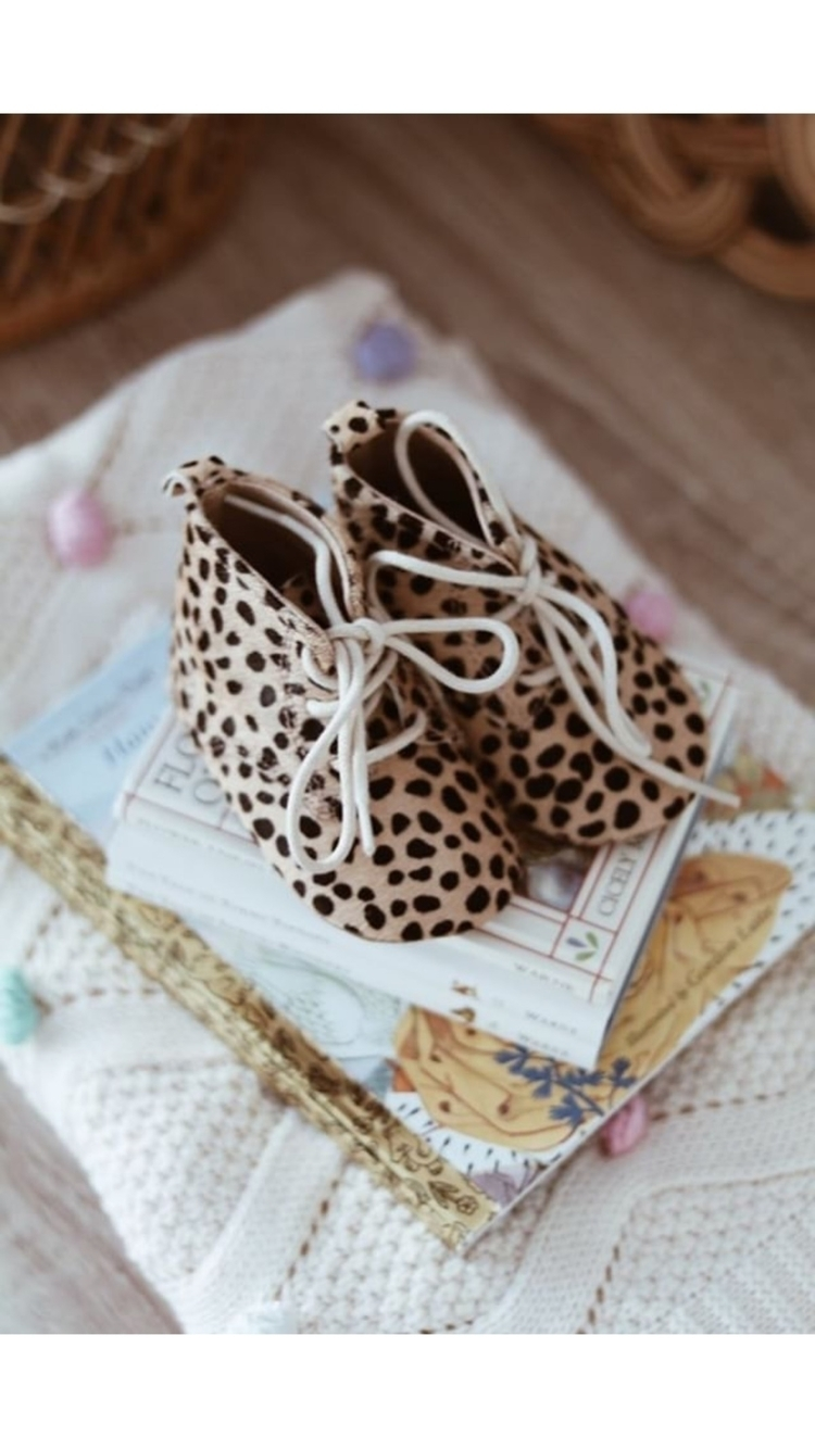 •STACK sweet leopard lace booti - fawnandfinch | ello