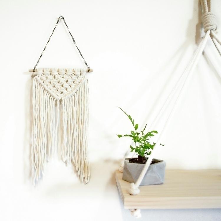 Mini macrame wall hangers store - charlieandchook | ello