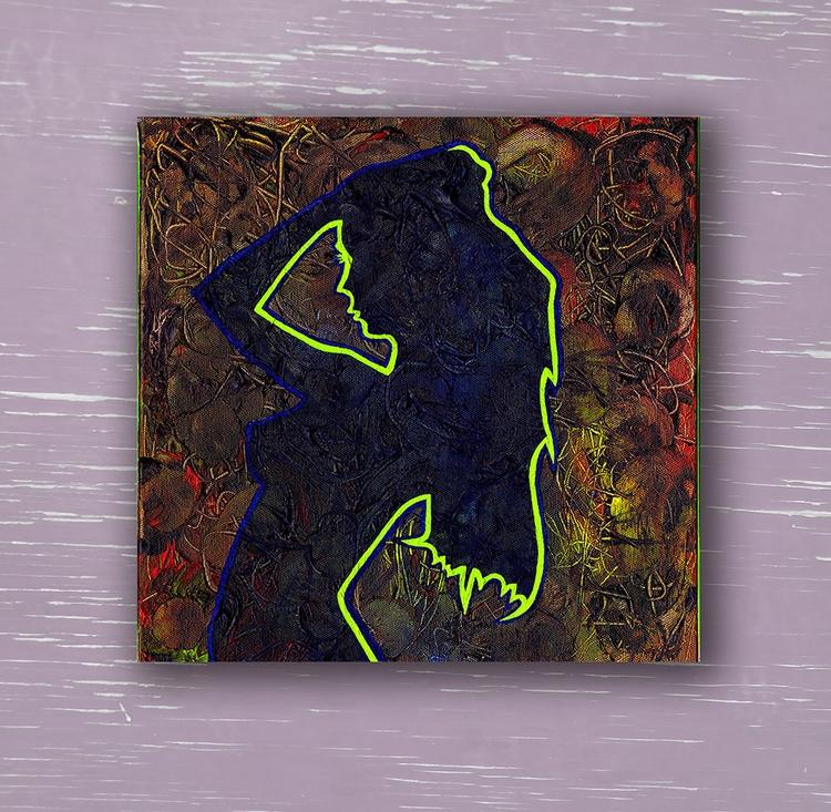 Delirium - acrylic canvas, 12x1 - crd_larson | ello
