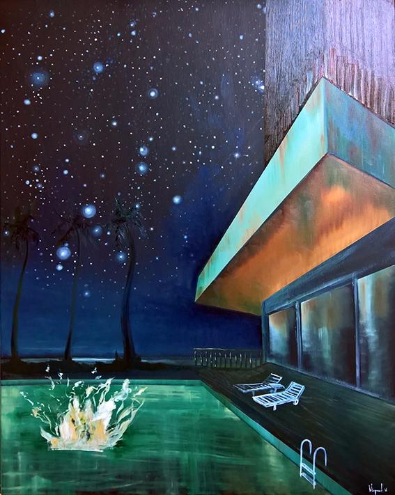 Painting: 'Ivar' Oil canvas 80  - baswiegmink | ello
