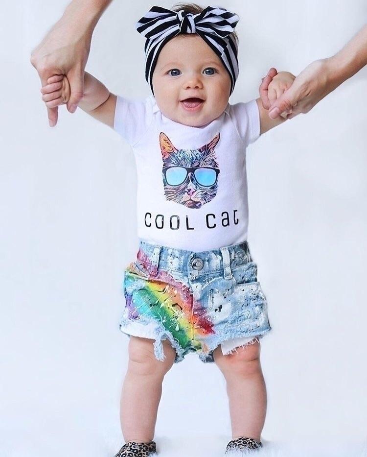 Kovie cool cat - baby, babygirl - littleposhbabes | ello