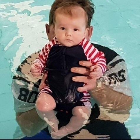 swimming lesson cutie - rashoodzswimwear | ello