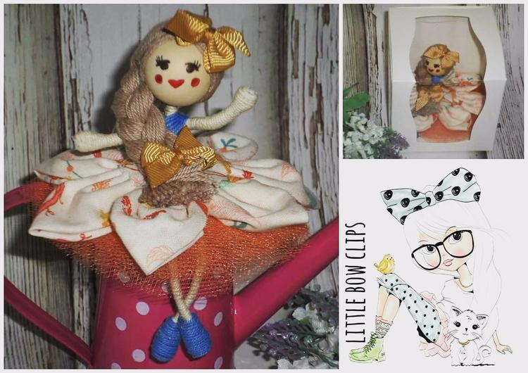 Bow Shelfie Doll...designed exc - littlebowclips | ello