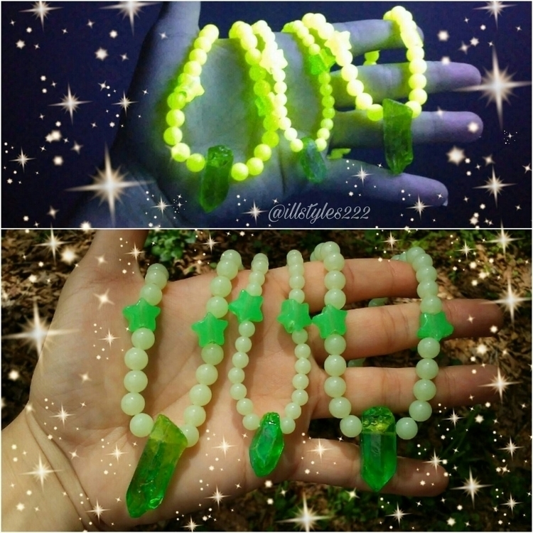 3 - alien, glowinthedark, chokers - illstyles222 | ello