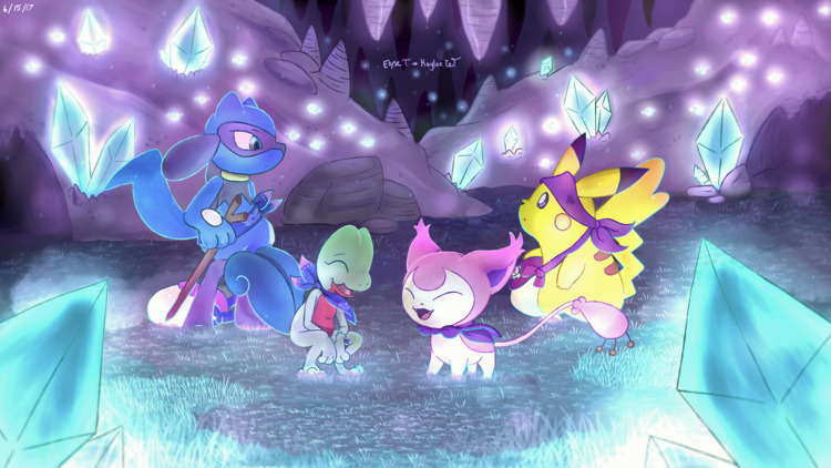 Pokemon Super Mystery Dungeon,  - nightfuryshadows | ello