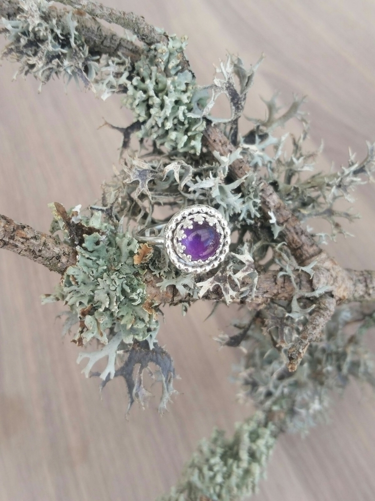 Amethyst crush - sterlingsilver - pretiosadesign | ello