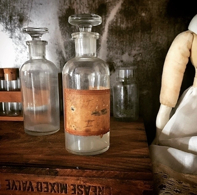 Late 1800s Apothecary Jars - thingsyoufindinneworleans - hearthandcrow | ello