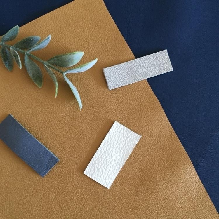 Leather snap clips - mischaastoria - mischaastoria | ello