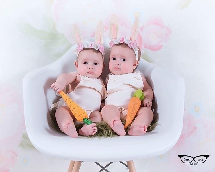 cute bunnies - kubytwins | ello