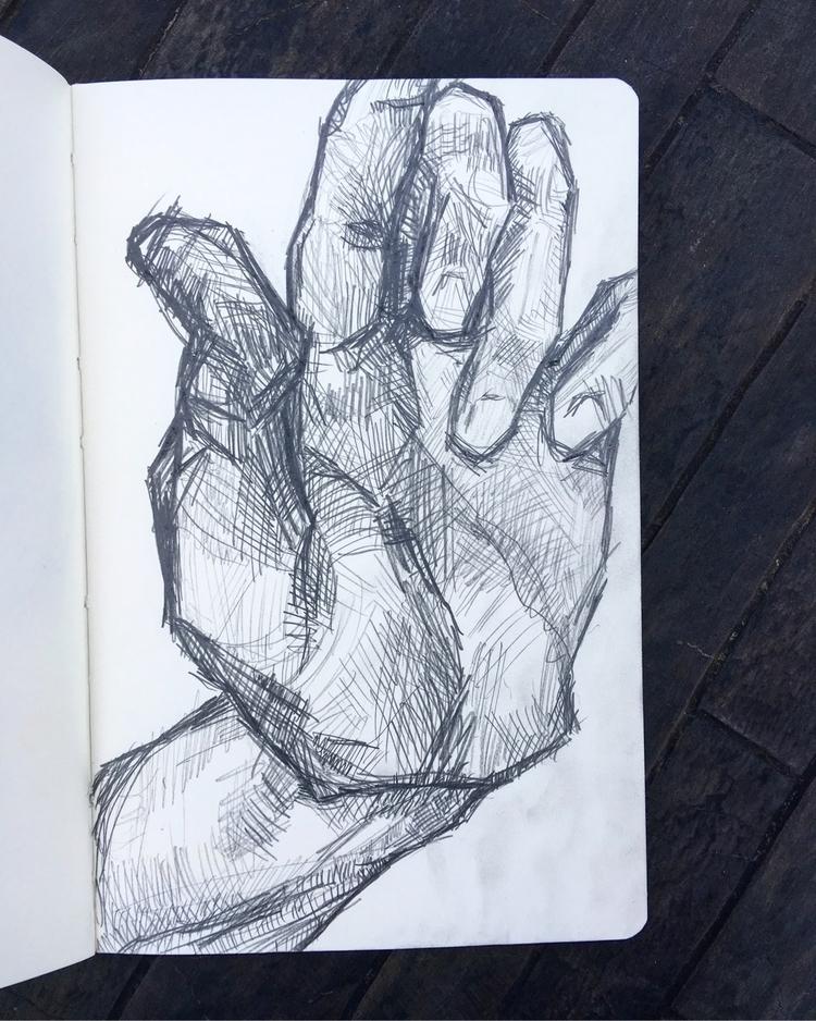 Graphite study - Kevan_joseph, artwork - kevan_joseph | ello