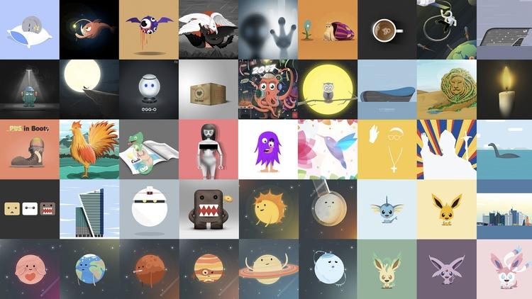 Visit 50 illustrations artworks - designmnl   ello