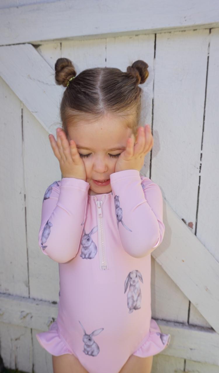 Funny Bunny Sophia swimsuit.  - kidsswimwear - lovebywillow | ello