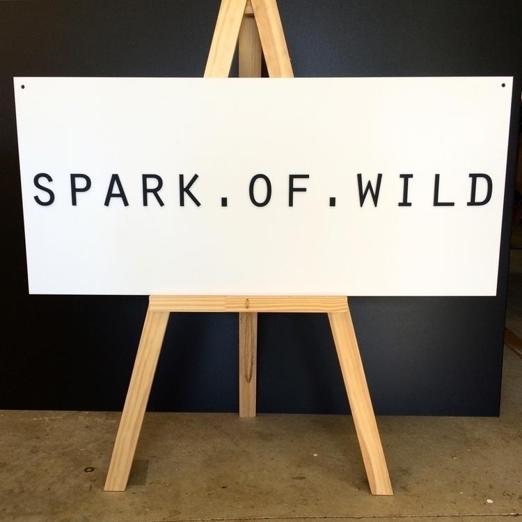 Acrylic signage delivering good - trescollective | ello