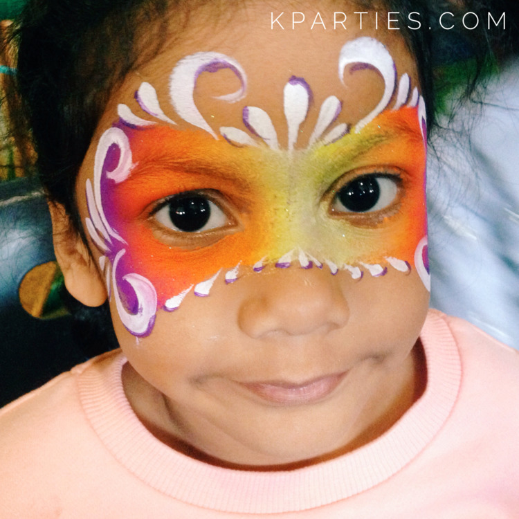 Fairy face painting favourites - krystalskidsparties | ello