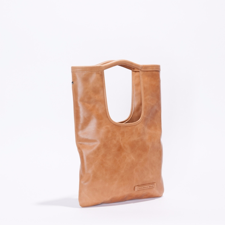 Origins Bag Mini - Tan - leather - harlequinbelle | ello