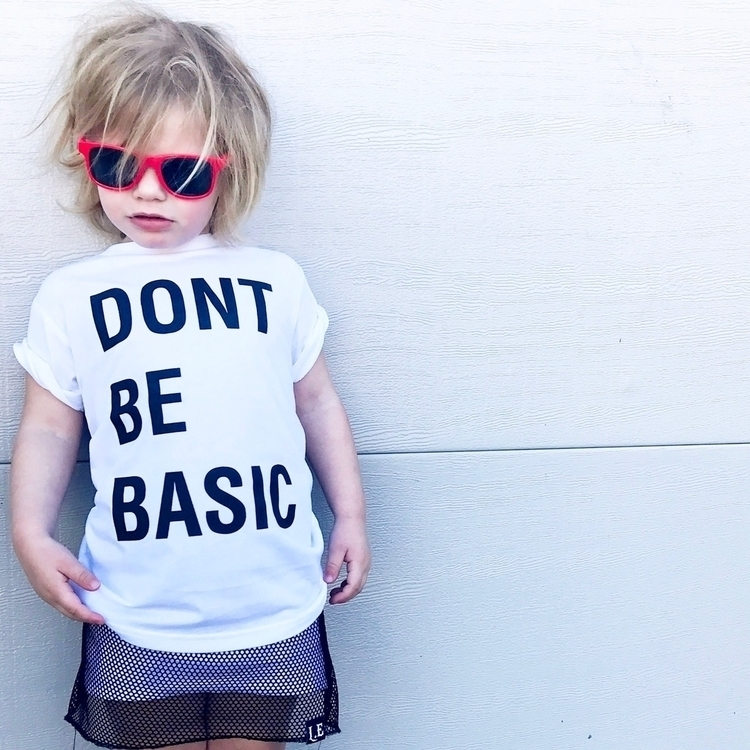 Meeka basic! Love tee - dontbebasic - lizette_andthe_babes | ello