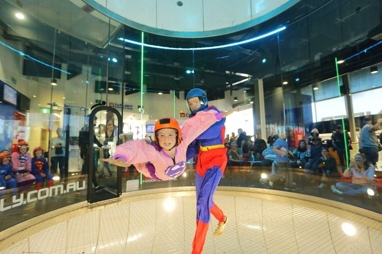 Learning superhero! iFly Downun - theworldandkids | ello