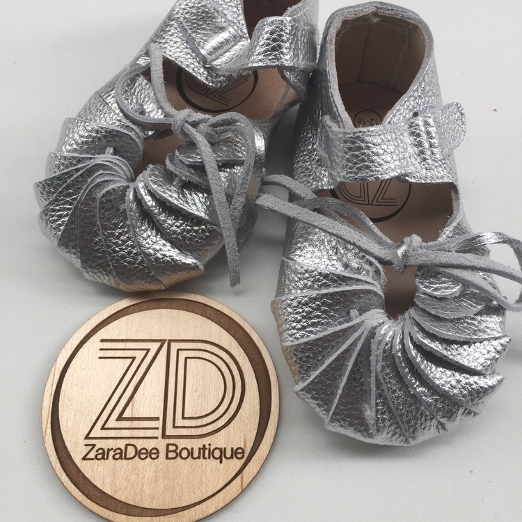 AMELIA [silver] Sandal Moccs.  - zaradeeboutique | ello