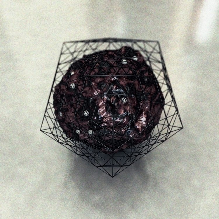 abstract, procedural, grain, metal - kiraimane | ello