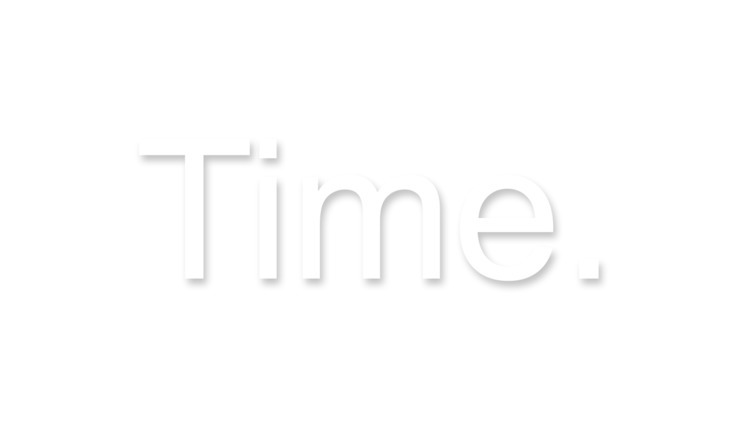 """Time."" Created simple HTML5 an - noahkantor 