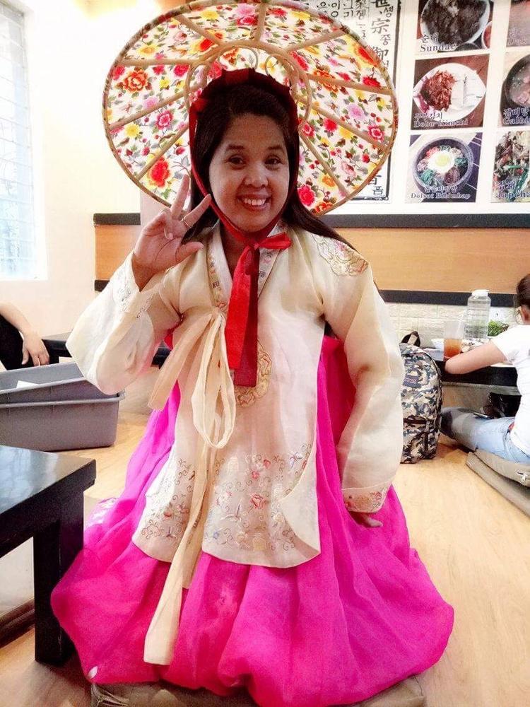 enjoyed dressing Korean:blush - madel16   ello