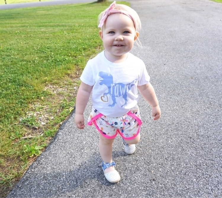 cutie loves Dino shirt Blessing - raisinglittlecheeks | ello