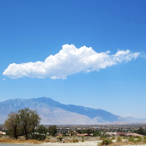 cloud mountain:cloud:️:sunrise - anishacreations | ello