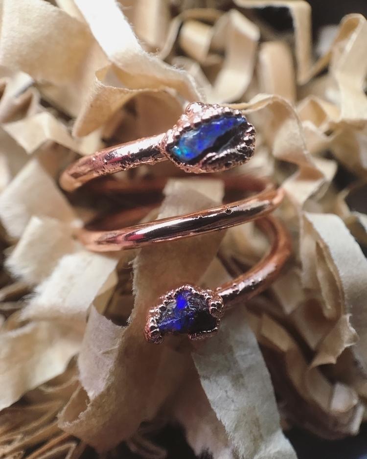 Double Opal Twist - seaglassandstardust | ello