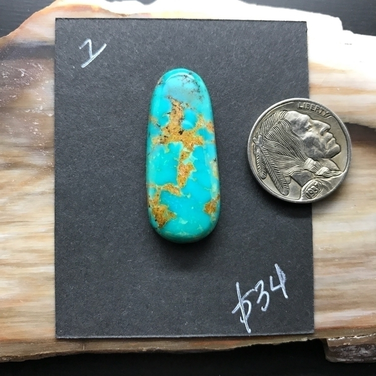 Stabilized Kingman Turquoise. l - stonephase | ello